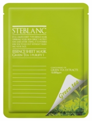 Steblanc Essence Sheet Mask Green Tea 20g